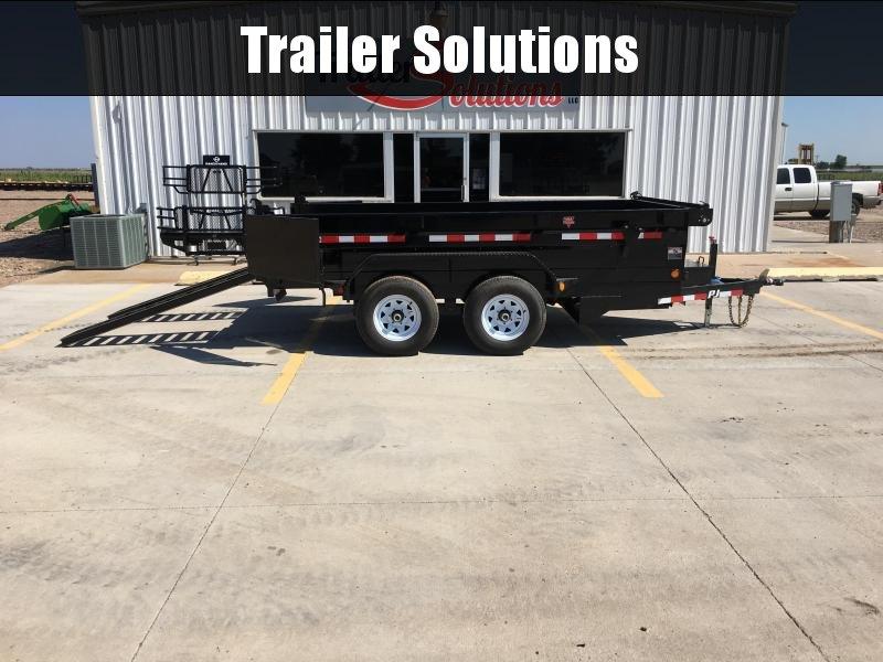 "2019 PJ 12' x 72"" Tandem Axle Dump Trailer"