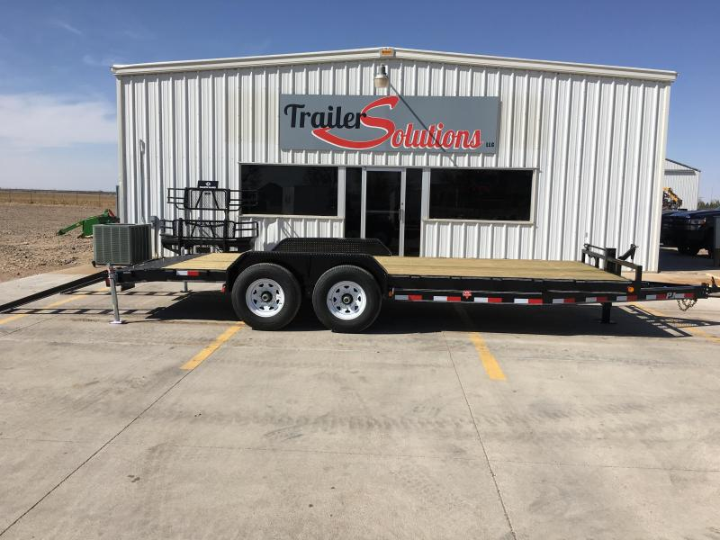 "2019 PJ 20'x 6"" Channel Equipment Trailer"