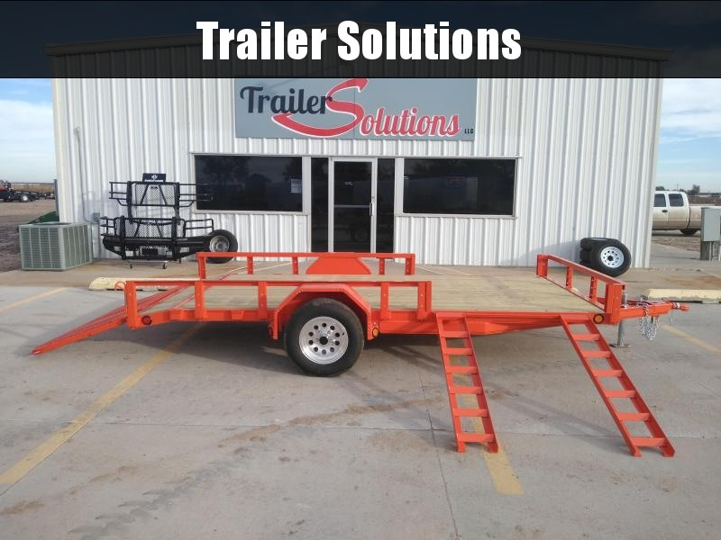 "2019 PJ 14' x 77"" SIngle Axle Channel Utitly"