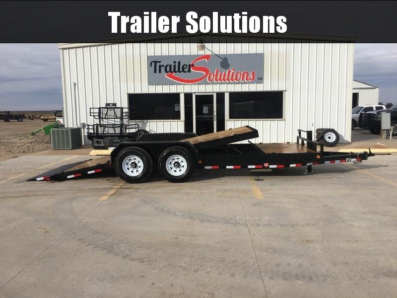 "2019 PJ 20' x 83"" 6"" Channel Equipment Tilt Trailer"