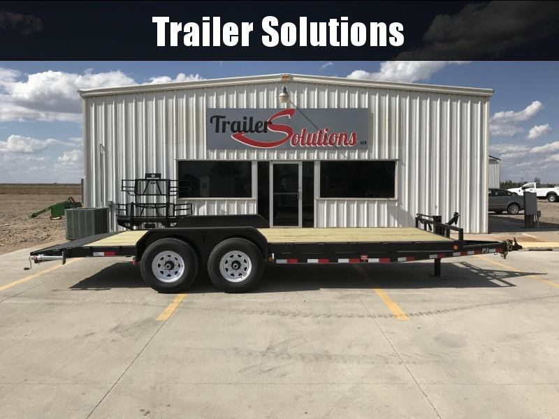 "2019 PJ  20' x 83""  Equipment Trailer"