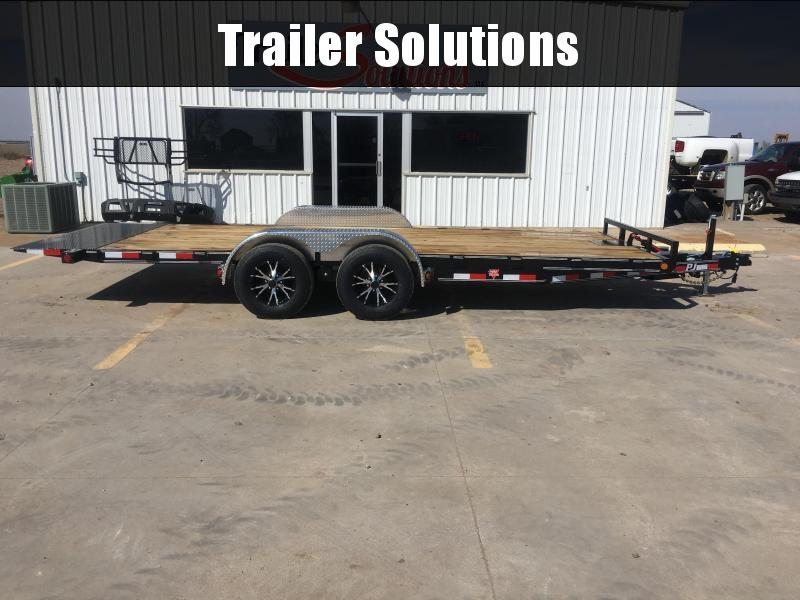 "2019 PJ 20' 83"" Hydraulic Quick Tilt Trailer"