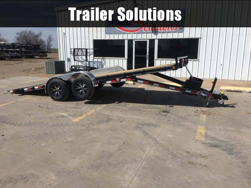 "2019 PJ 20' 83"" Hydraulic Quick Tilt Trailer"