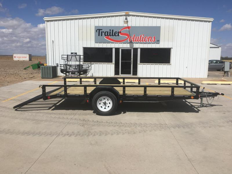 "2019 PJ 14'x77"" Single Axle Utility Trailer"