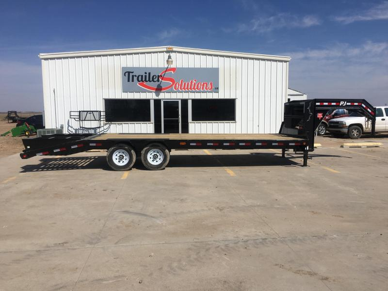 "2020 PJ 25' x 102"" Low-Pro Flatdeck with Singles Trailer"