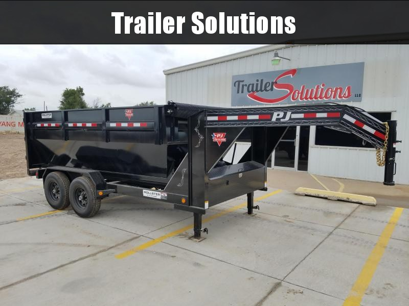 "2019 PJ 14' x 83"" Rollster Roll Off Dump Trailer"