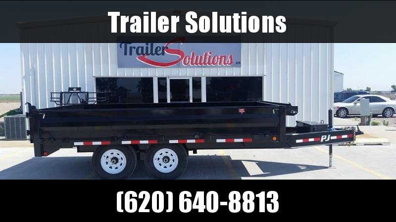2019 PJ Trailers 10 in. I-Beam Deckover Dump Dump Trailer