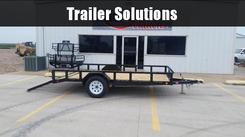 "2019 PJ 12' x 83"" Single Axle Utility Trailer"