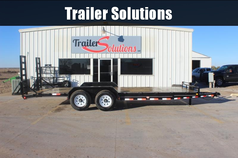 "2019 PJ 22' x 83"" with 6"" Channel Equipment Trailer"