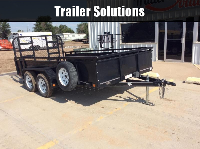 "2015 PJ 14' x  83"" High Side Utility Trailer"