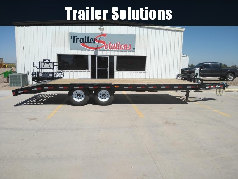 "2019 PJ 22' x 102"" with 8"" I-Beam Deckover Trailer"