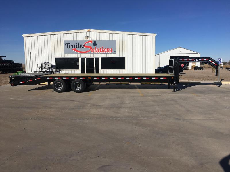"2019 PJ 30' x 102"" Classic Flatdeck Trailer with Duals"