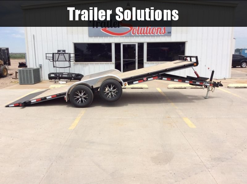 "2020 PJ 20' x 83"" Hydraulic Quick Tilt Trailer"