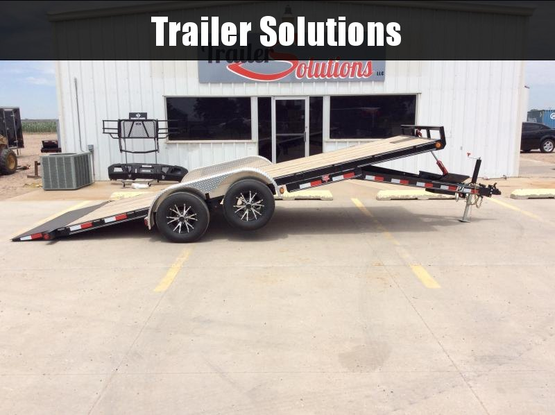 "2020 PJ 20' x 83"" Hydraulic Quick Tilt Trailer"