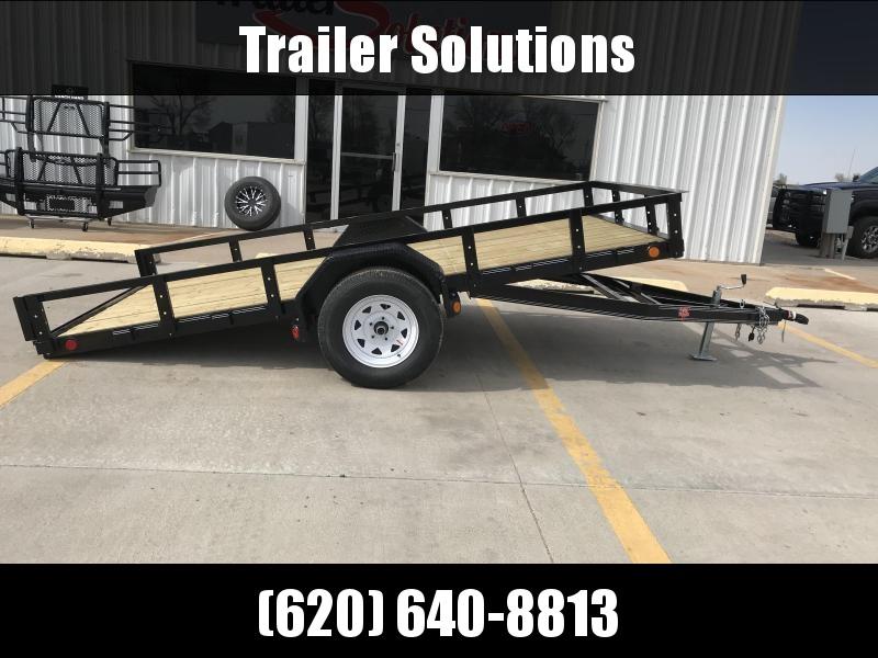 "2019 PJ 12' x 72"" Single Axle Utility Tilt Trailer"
