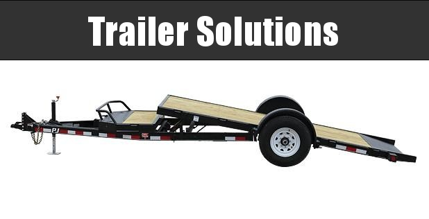 "2019 PJ 16' x 83"" Single Axle Hydraulic Tilt Trailer"