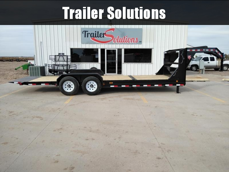 "2019 PJ 22' x 83"" with 6"" Channel Equipment Tilt Trailer"