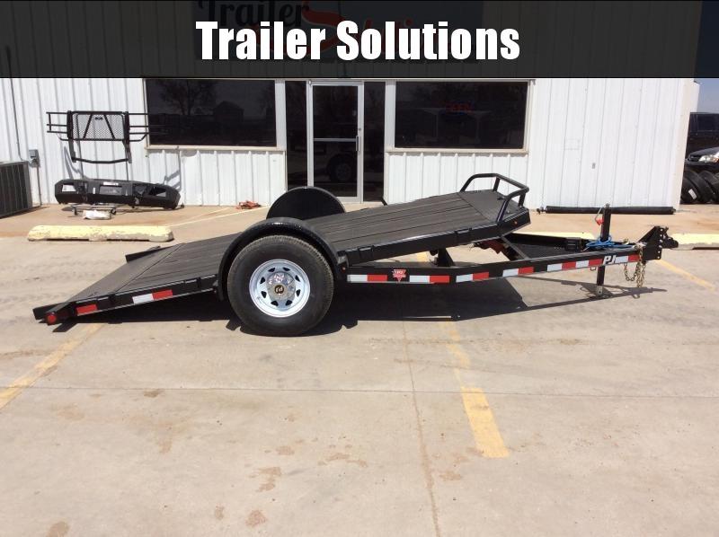 2019 PJ Trailers Single Axle HD Tilt (T1) Equipment Trailer