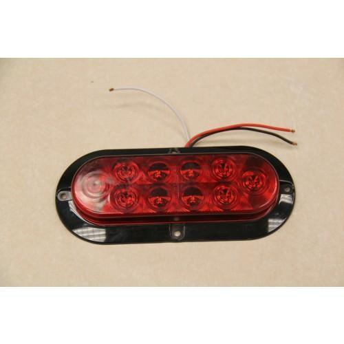 "Tail Light Surface Mt 6"" Oval LED"