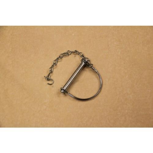 Pin safety bulldog coupler collar lock