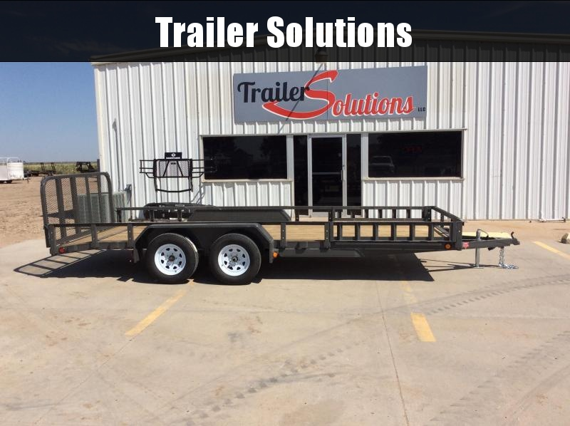 "2020 PJ 18' x 83"" Tandem Axle Channel Utility  Trailer"