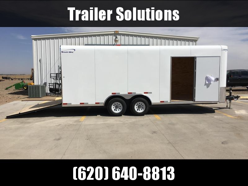 2018 Sharp V-Nose 101 Heavy Duty Cargo Trailer