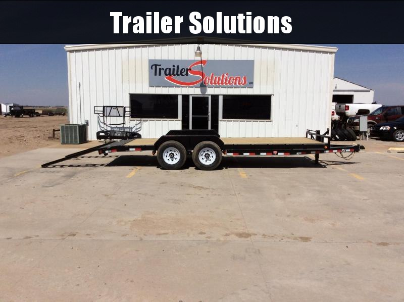 "2019 PJ 20' x 83"" 6"" Channel Euipment Trailer"