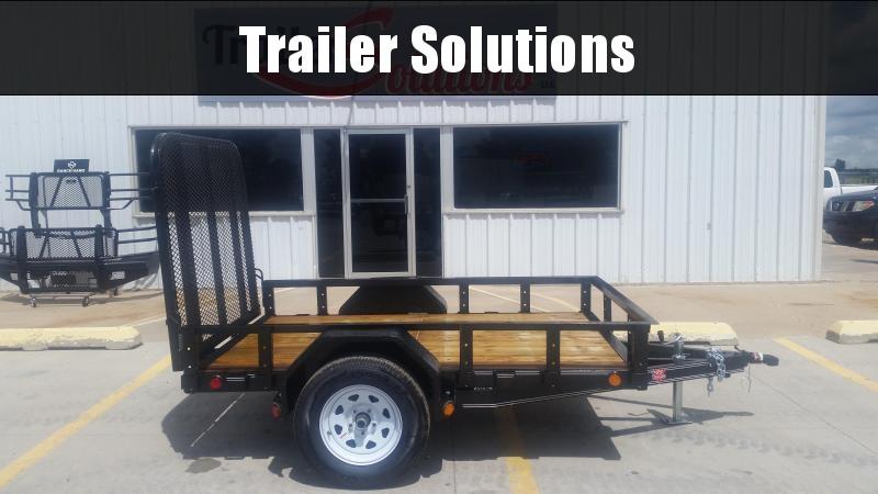 "2019 PJ 8' x 60"" Single Axle Utility Trailer"
