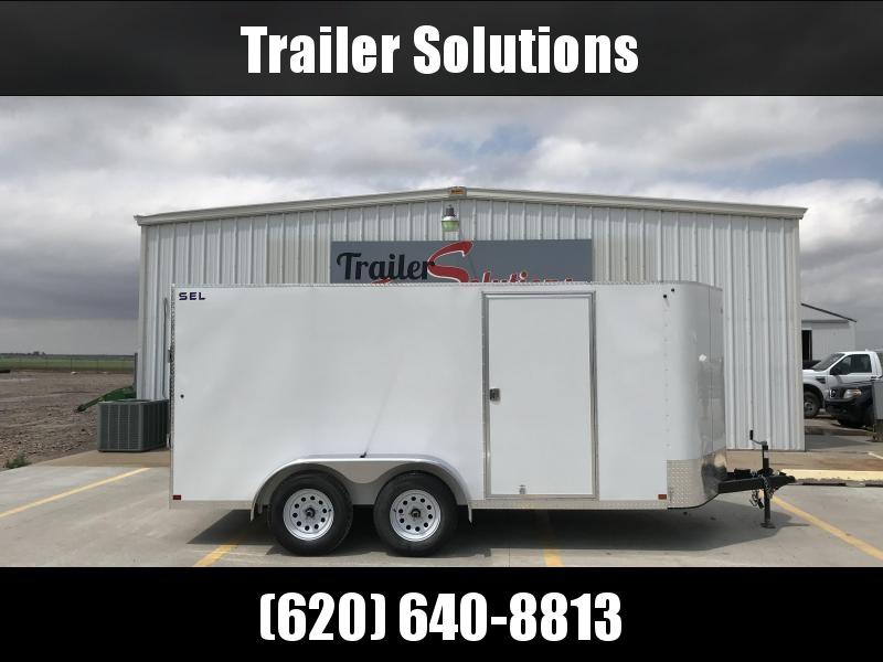 "2018 Sharp SEL 6'8"" x 14' Enclosed Cargo Trailer"