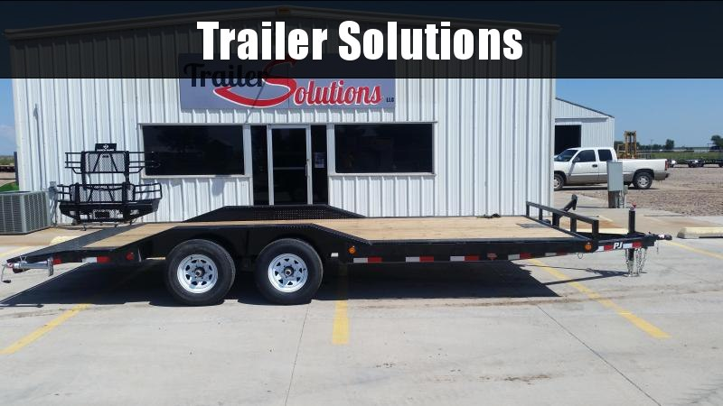 "2019 PJ 20' x 5"" Channel Buggy Hauler Trailer"