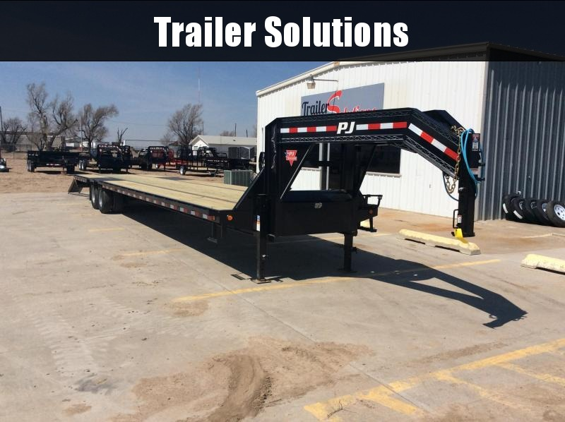 "2020 PJ 40' x 102"" Low-Pro Flatdeck with Duals Trailer"
