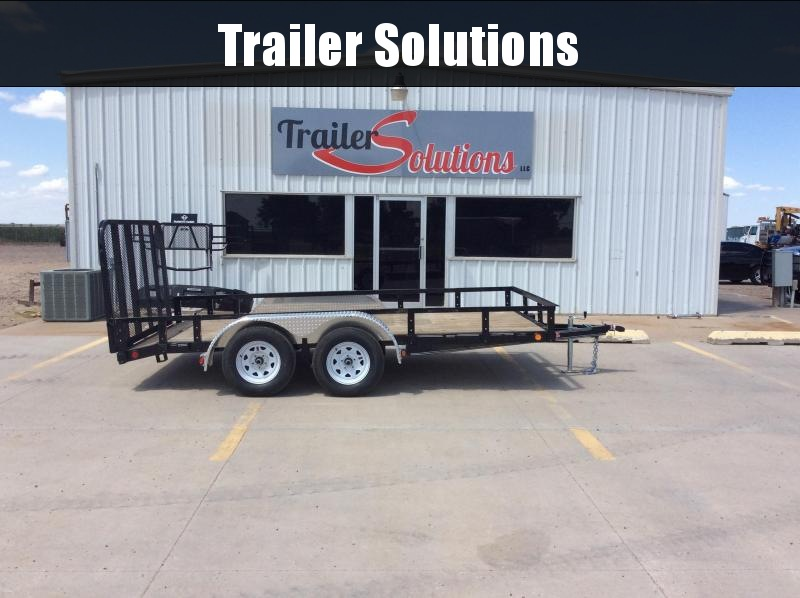 "2020 PJ 14' x 83"" Tandem Axle Channel Utility Trailer"