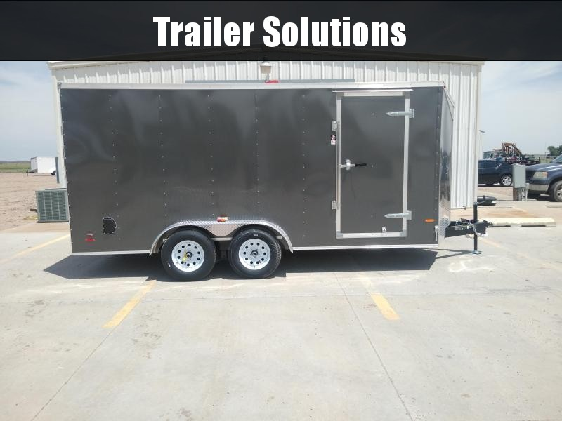 2019 Carry-On 7 x 16 Enclosed Trailer