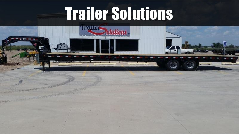 "2019 PJ 40' x 102"" Classic Flatdeck with Duals Trailer"