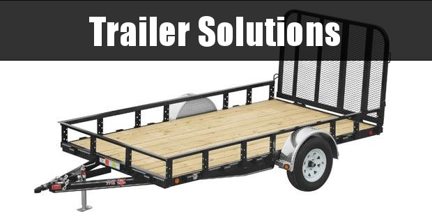 "2020 PJ 12' x 77"" Single Axle Channel Utility Trailer"