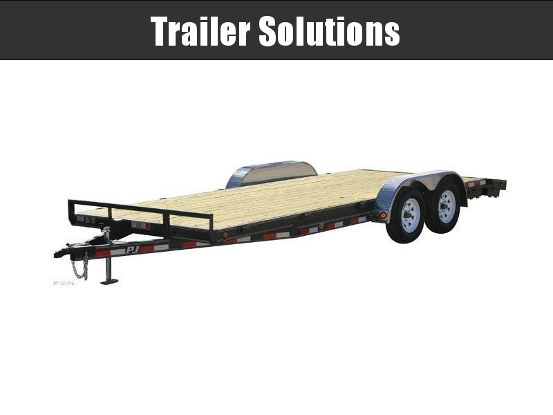 "2019 PJ 20' x 102"" with 5"" Channel Carhauler Trailer"