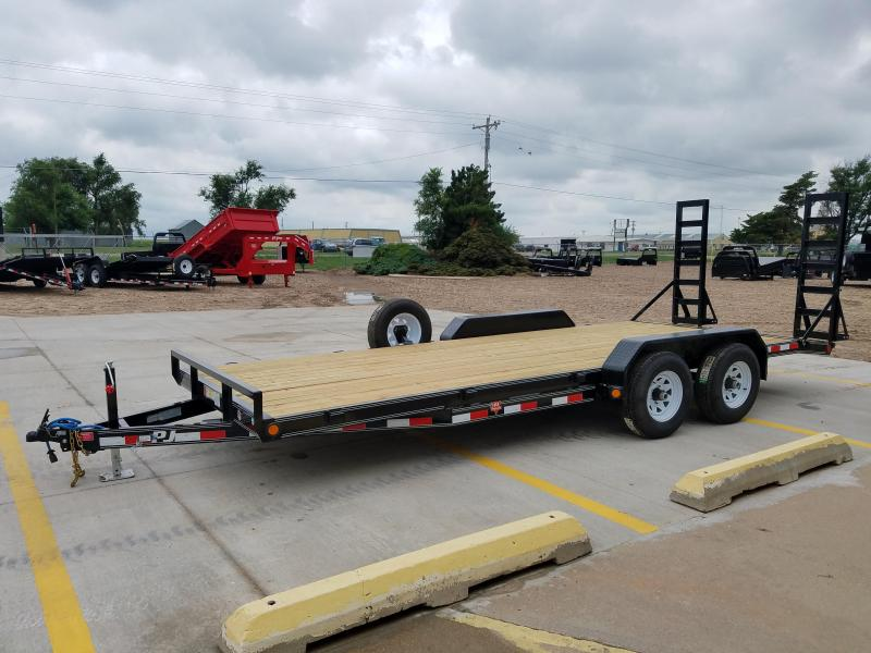 "2018 PJ 20'x5"" Channel Equipment Trailer"