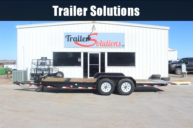 "2019 PJ 20' x 83"" with 6"" Channel Equipment Tilt Trailer"