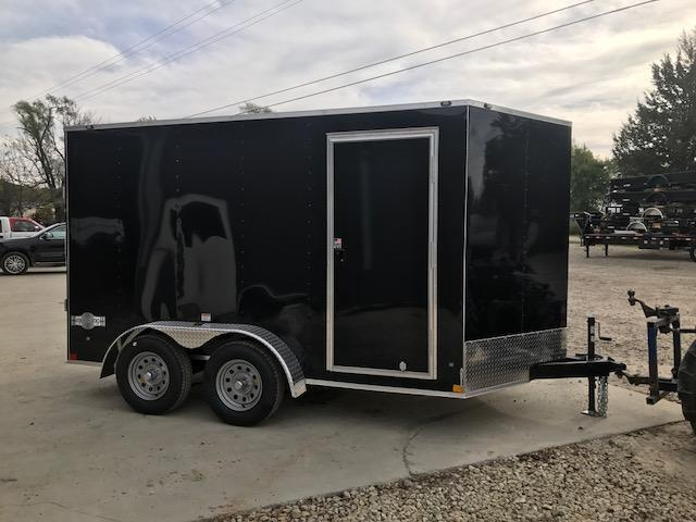 2018 Stealth Trailers 7X12 MUSTANG TANDEM AXLE Enclosed Cargo Trailer