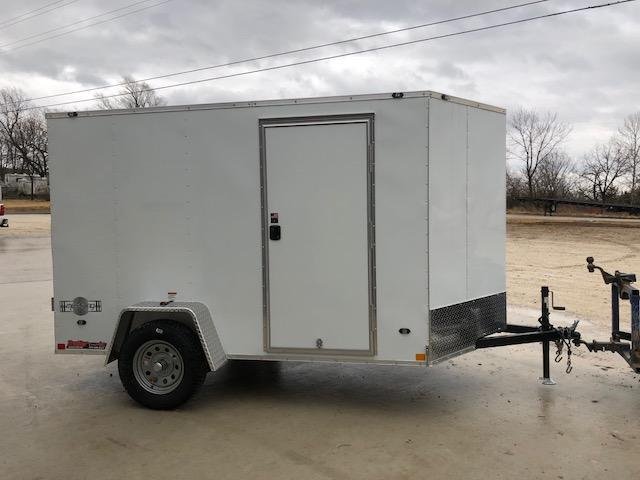 2018 Stealth Trailers 6X10 MUSTANG RAMP DOOR SINGLE AXLE Enclosed Cargo Trailer
