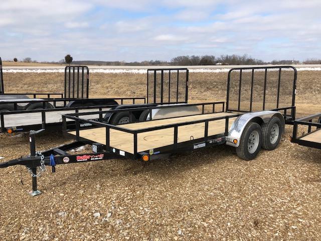 2018 Load Trail 77X16 7K TANDEM AXLE Utility Trailer