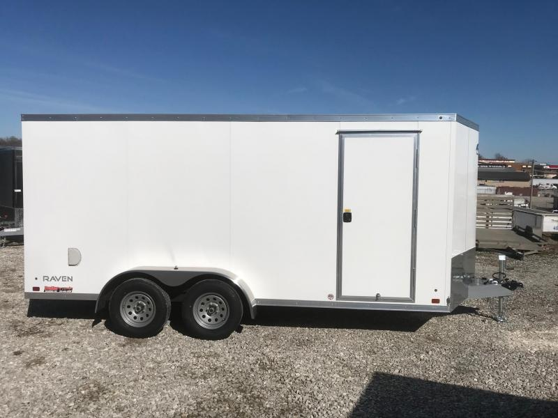 2018 ATC 7X162 TORSION AXLE ALL ALUMINUM Enclosed Cargo Trailer