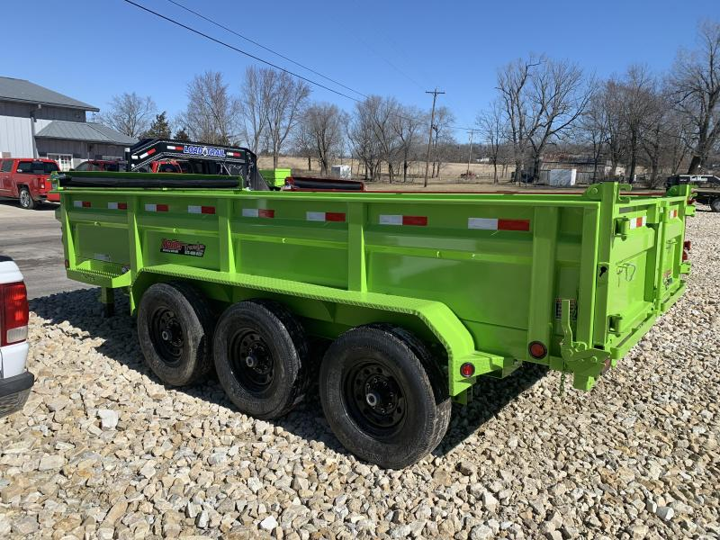 "2019 Load Trail 83"" X 16' Triple Axle Dump Dump Trailer"