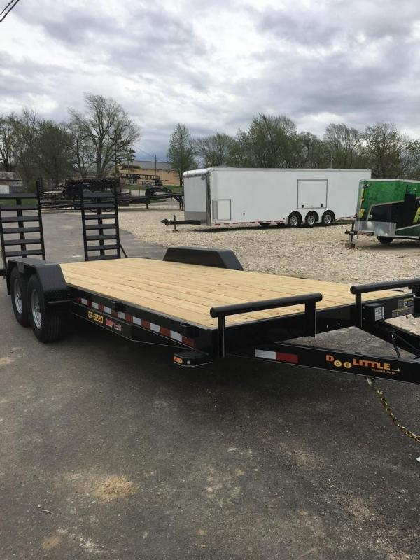 2019 Doolittle Trailer Mfg 82X20 Flatbed Trailer