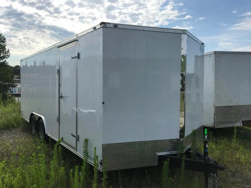 2020 Continental Cargo 8.5X20 CC 7K GVW BEAVERTAIL D-RINGS Enclosed Cargo Trailer