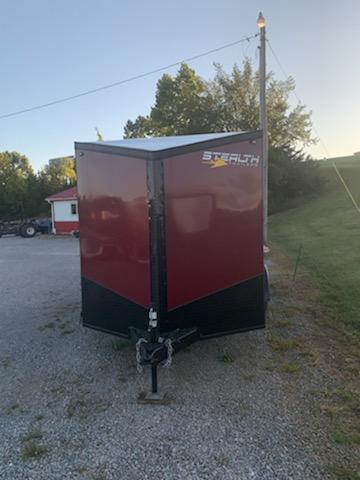 2020 Stealth Trailers 7X14 STEALTH 8 D-RINGS STAB JACKS Enclosed Cargo Trailer