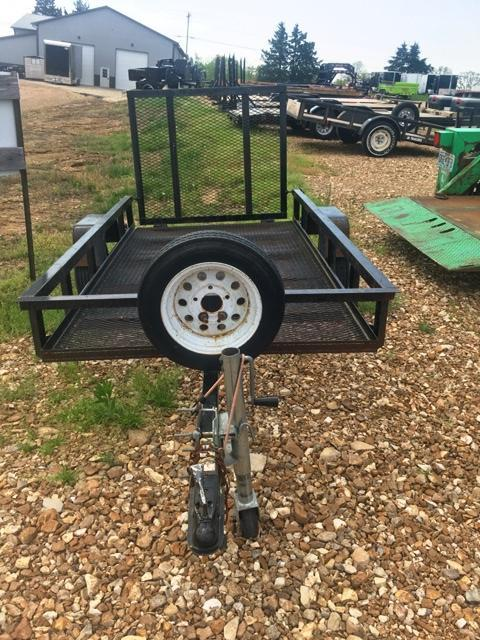 2007 Carry-On 5X8 WITH GATE Utility Trailer