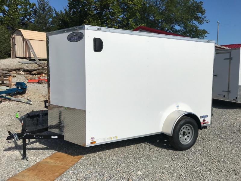 2020 Continental Cargo 6X10 V SERIES RAMP DOOR Enclosed Cargo Trailer