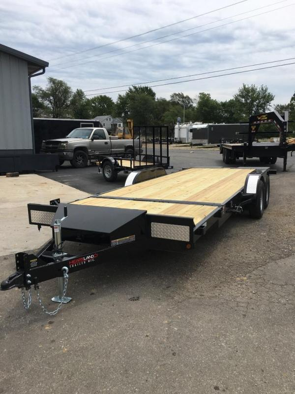 2019 Heartland 82X22 HEARTLAND SURE TILT 16+6 7K GVW BLACK Flatbed Trailer