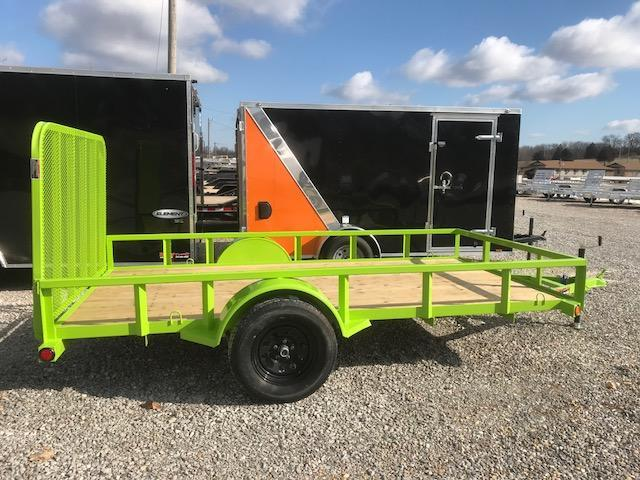 2018 Load Trail 77x12 SE SAFETY GREEN Utility Trailer